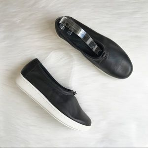 Eileen Fisher Sydney Washed Leather Sneaker Shoes